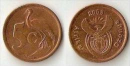 South Africa 5 Cents 2003 - Sudáfrica