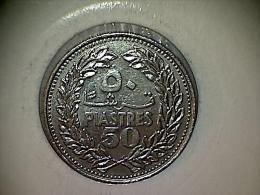 Liban 50 Piastres 1978 - Lebanon