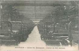 CPA 38 - Bourgoin - Usine Ch Diéderichs - Atelier De 680 Métiers - Bourgoin