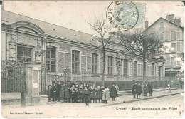 CPA 91 - Corbeil - Ecole Communale Des Filles - Corbeil Essonnes