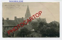 MOORSLEDE-Carte Photo Allemande-Guerre 14-18-1 WK-BELGIQUE-BELGIEN-Flandern- - Moorslede
