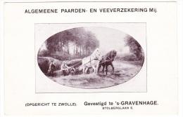 's-Gravenhage - Algemeene Paarden En Veeverzekering Mij. - Advertising