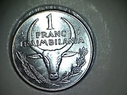 Madagascar 1 Franc 1993 - Madagascar