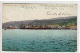 BELLISSIMA CARTOLINA TRIESTE BR1240 - Trieste