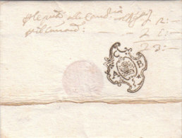 Italy Italia Venezia Venice Six Prestamp Covers Treviso Brescia Palma Udine Korfu Padova, Presumably Faked (n87-92)) - ...-1850 Préphilatélie