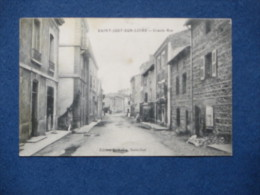 CPA-42-SAINT JUST SUR LOIRE-Grande Rue-(port Gratuit) - Saint Just Saint Rambert