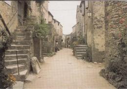 Cp , 12 , LA COUVERTOIRADE , Une Rue Du Village Fortifié - Autres Communes