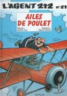21 - L'AGENT 212 - AILES DE POULET ( KOX / CAUVIN ) - Agent 212, L'