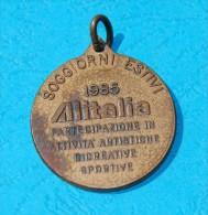 ALITALIA - Soggiorni Estivi 1986 -  Società Aerea Italiana, National Airline Of Italy - Aviation - Italia