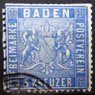 BADE             N° 10              OBLITERE - Baden