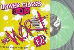 LOWER CLASS BRATS - The Worst E.P. - DIRTY PUNK - PUNK CORE - VINYL VERT - Punk