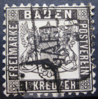 BADE             N° 16             OBLITERE - Baden