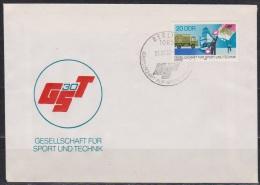 DDR FDC1982 Nr.2715  30 Jahre Gesellschaft Für Sport Und Technik (d 2854 ) - DDR