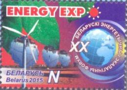 BY 2015  Belarussian Energy And Ecology Congress, BELORUSSIA, 1 X 1v, MNH - Belarus