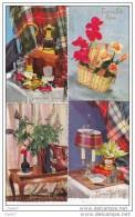 """16 Cpsm Petit-Format  Réf-JP-N-1014 ( Bonne Fête PAPA """""""" Good Dad Party """""""" )     De Très Belles Cartes à L&acute Eta - Postcards"""