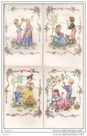 4 Cpa Réf-JP-O-48      (  Illustrations ENFANCE ) - Collections, Lots & Séries