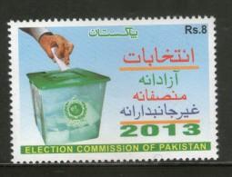 Pakistan 2013 Election Commission Ballot Box MNH # 5603 - Pakistan