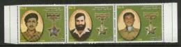 Pakistan 2013 Galantry Award Medal Winners Nishan-E-Haider & Kashmir MNH # 6381B