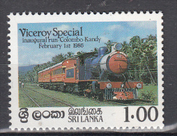 Trein, Trains, Railway, Locomotive Sri Lanka 1986 Mi Nr 726 - Trains