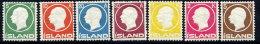 ICELAND 1912 Frederik VIII Set, LHM / *.  Michel 69-75 - 1873-1918 Danish Dependence