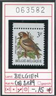 BUZIN -  Belgien - Belgique - Belgie - Belgium -  COB 2189 - Michel 2241 ** Mnh Neuf Postfris - Vögel Oiseaux Birds - 1985-.. Oiseaux (Buzin)