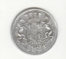 20 Centimes - Suresnes - Chemin De Fer Du Bois De Boulogne -1921 - TTB+ - Monétaires / De Nécessité