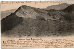 Carte Postale Ancienne De COSTA RICA - VOLCAN IRAZU - CARTAGO - Costa Rica