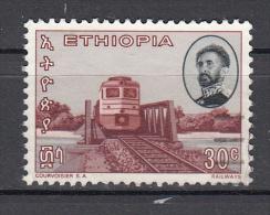 Trein, Trains, Railway, Locomotive Etiopia 1965 \Mi Nr 508 - Trains