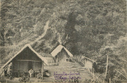 Nouvelle Guinée : Village Papou - Papouasie-Nouvelle-Guinée
