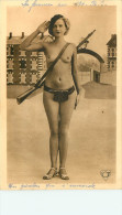 Erotisme Nu Féminin Belle Carte Pas Courante Photo Montage - Nus Adultes (< 1960)