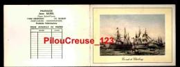 "17 Charente Maritime - GEMOZAC - "" Calendrier 1974 - Pub Pharmacie Jean BABEL - Illustration En Rade De Cherbourg "" - Calendriers"