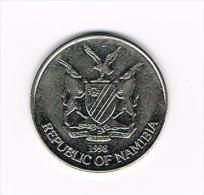 *** NAMIBIA  10 CENTS   1998 - Namibie