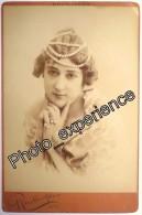 Photo XIX Femme Artiste Courtisane Women Artist Courtesan 1894 OTERO Paris - Beroemde Personen