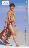 Télécarte Japon EROTIQUE (5353) EROTIC * Japan  EROTIK * BIKINI GIRL * BATHCLOTHES  * FEMME * SEXY LADY - Moda