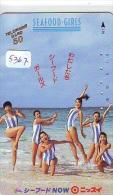 Télécarte Japon EROTIQUE (5367) EROTIC * Japan  EROTIK * BIKINI GIRL * BATHCLOTHES  * FEMME * SEXY LADY - Mode