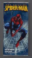 Spiderman:Eau De Toilette Natural Spray 75ML 70% Vol. 2.5 FL.OZ, The Amazing Spider.Man, Marvel 2008 (15-2254) - Fragrances (new And Unused)