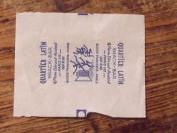 Emballage De Sucre Ancien FRANCOIS Quartier Latin Paris 310 - Sugars