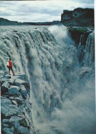 Dettifoss-Largest Waterfall In Europe.  Iceland.  # 04357 - Iceland