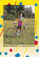 LAURENT BIONDI (CHLOEBIS) - Cyclisme