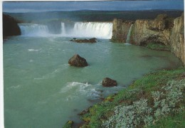 Godafoss. Waterfall In Iceland.  # 04410 - Iceland