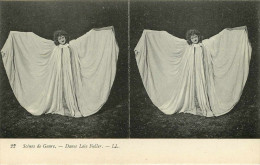 Cartes Stéréoscopiques - Scènes De Genre -Lots- Lot De 12 Cartes - Danse Loie Fuller - Cartomancienne - Pierrot - Autres - Stereoskopie