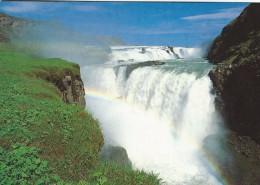 Gullfoss. Waterfall In Iceland.  # 04411 - Iceland