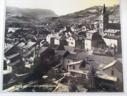 Ancienne Photographie De Compartiment De Wagon SNCF AGUESSAC (Aveyron ) Grand Format Sous Plastique Rigide - Reproducciones