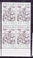 N° 2475 Centenaire De La Naissance De L´Ecrivain Henri Pourrat: Illustration De Gaspard Des Montagnes: Bloc De 4 Timbres - Unused Stamps