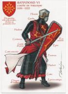 FRANCE - Raymond Vl -Comte De Toulouse (1156-1222). - Histoire