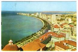 ANGOLA - LUANDA VIEW / THEMATIC STAMPS- MASK - Angola