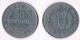 Bolivia 50 Centavos 1995 - Bolivia
