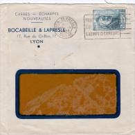 1939 N° 421 SEUL SUR  LETTRE. LYON Pour LYON/ 6035 - 1921-1960: Moderne