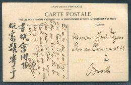 Tonkin Nam-Dinh - Les Bords D'un Arroyo Dieule Fils 397 Postcard - Brussels Belgium - Covers & Documents