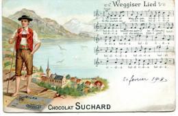 Weggiser Lied. Chocolat Suchard - Pubblicitari